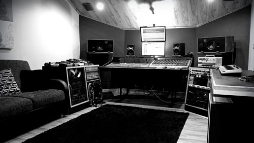 Control Room Recording Studio