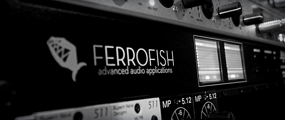 Ferrofish Converter Recording Studio Wales