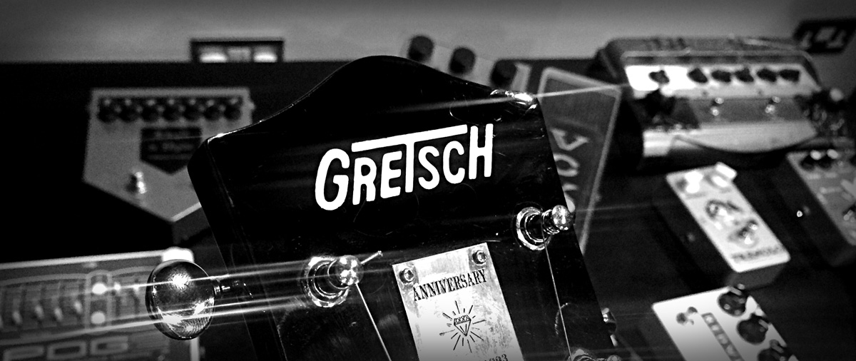 Gretsch Guitar Recording Studio Wales