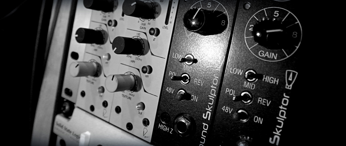 Preamps Recording Studio Wales