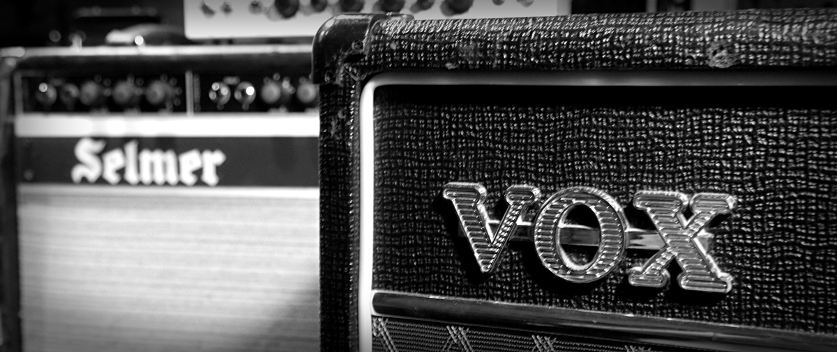 Vox Amplifier Recording Studio