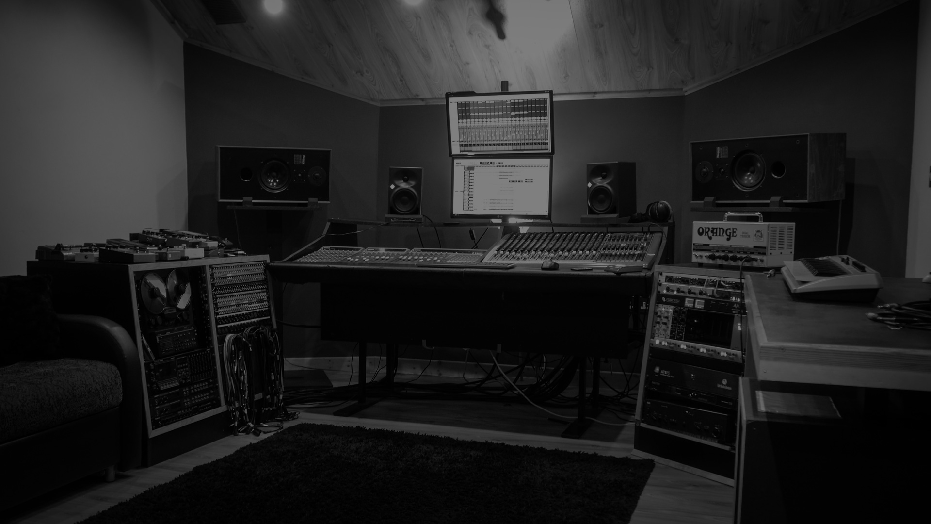 Control Room Recording Studio Wales